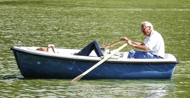 ボート漕ぎも仕事になるかも