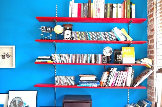 本棚の整理とブログの整理
